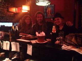 Catch up with old friends.  Cusco, Peru.