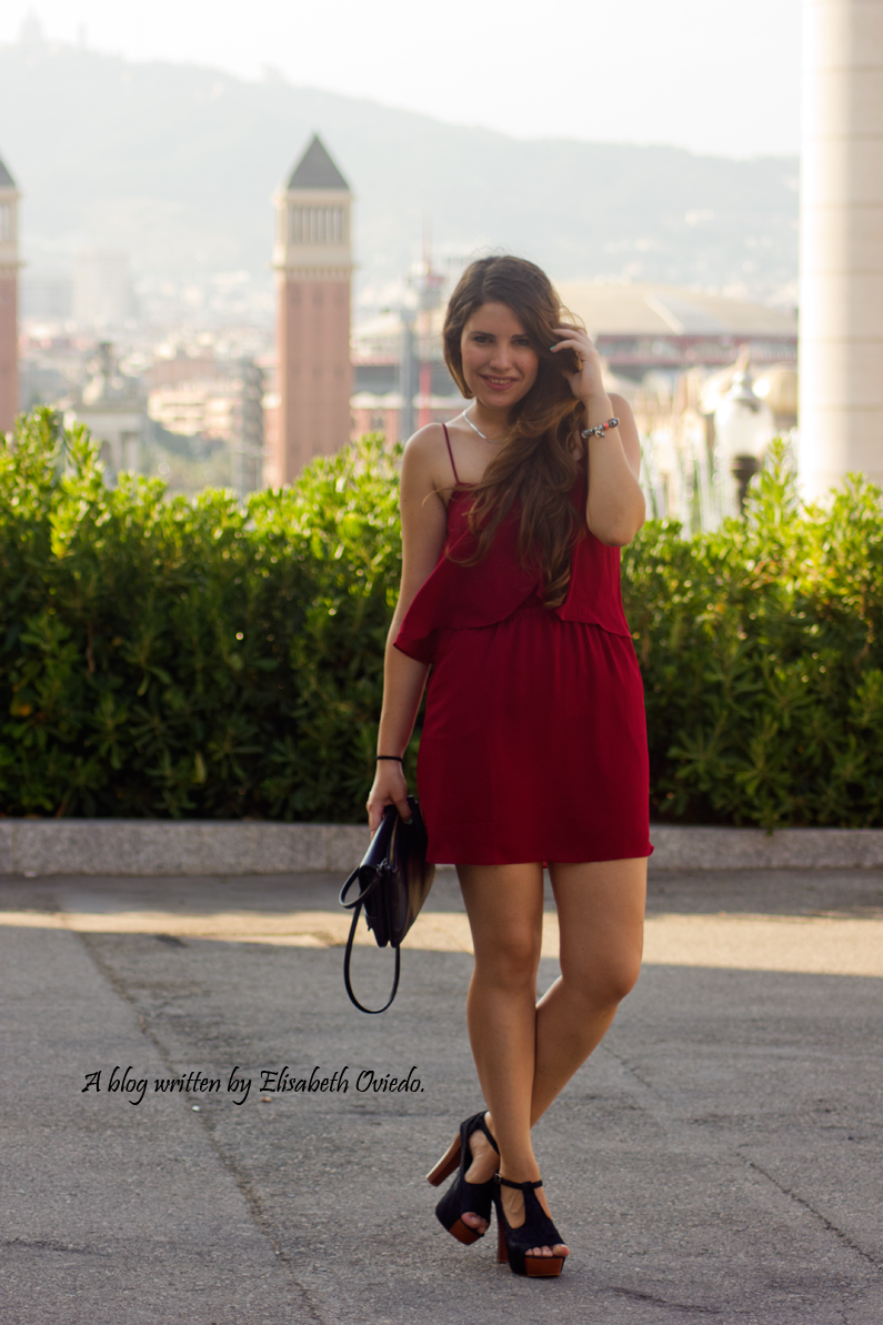 vestido burgundy MANGO HEELSANDROSES ELISABETH OVIEDO (2)