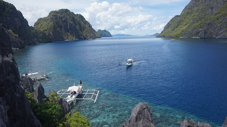 El Nido islands around the globe