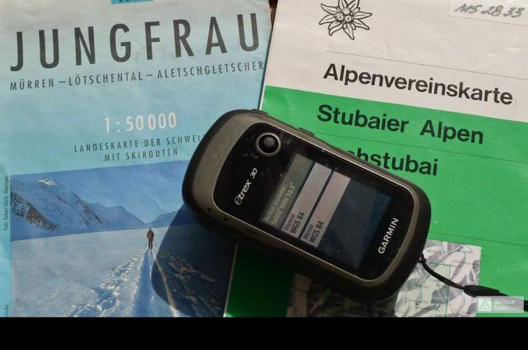 GPS a komunikace s mapou