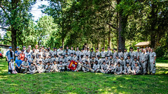 MCB Quantico's Summer Leadership and Character Development Academy helped improve wildlife habitat at Merrimac Farm WMA