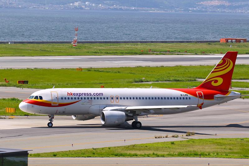 B-LPB 香港快運航空 香港エクスプレス航空 Hong Kong Express Airbus A320-214