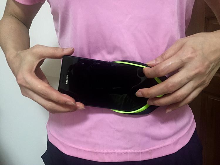 七星山-路跑 腰包(雙包) I-phone 6.彈力防水.防盜.贈品.禮品-排汗衣.車褲.高爾夫球.旅遊.排汗衫