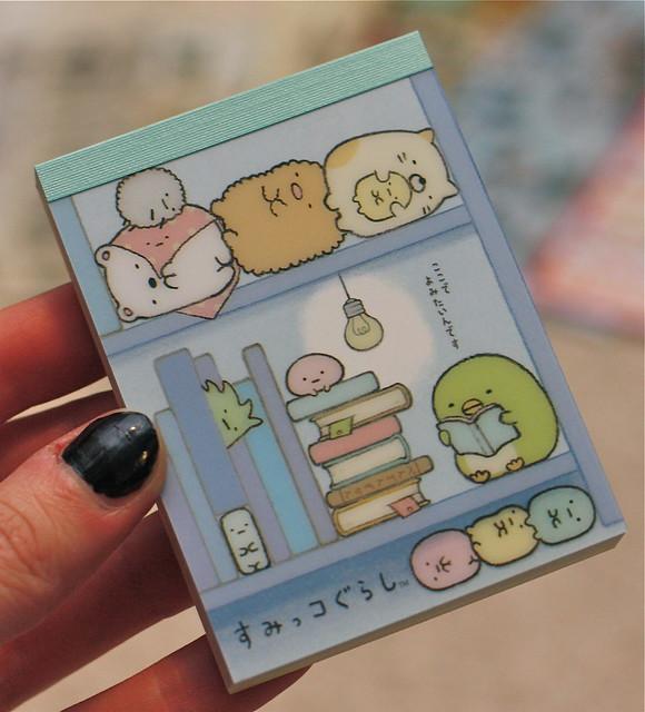mini notebook San-x