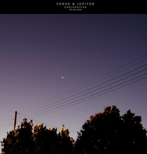Venus & Jupiter Conjunction
