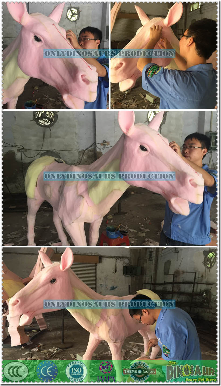 Sculpture Work for Animatronic Zebra