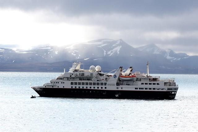 Silversea Silver Explorer, Alkhornet, Svalbad, Arctic