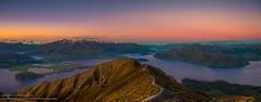 Panorama of Lake Wanaka