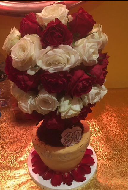 Flower Pot Cake by Soheila Rahemtulla of Soheila's Creations