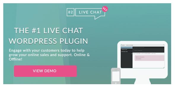82 Live Chat v2.2 - Customer Live Chat WordPress Plugin