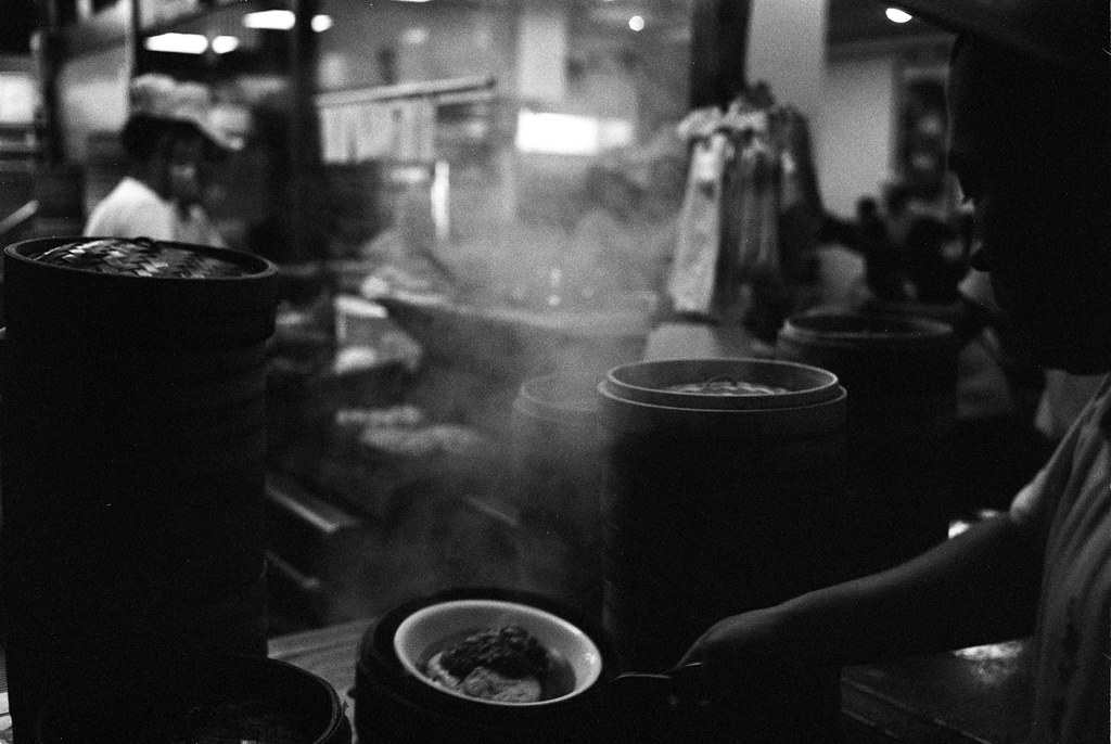 Steam from Xiao Long Bao