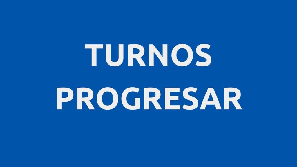 Turnos para Progresar
