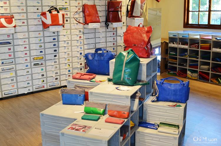 [期間限定]Freitag pop-up shop。瑞士環保再生包品牌(台北華山1914文創園區)