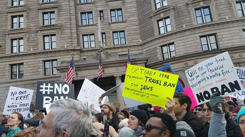 Rally to Resist Trump's Muslim Ban #NoBanNoWall