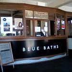 Imagine de Blue Baths lângă Rotorua.
