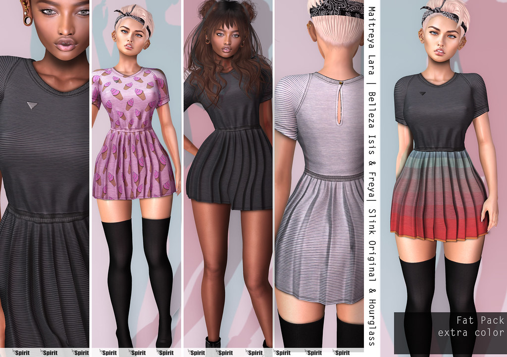 SPIRIT - Candy dress - SecondLifeHub.com