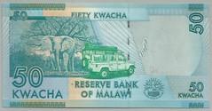 Malawi - 50 Kwacha - P 58a (b) (2012)