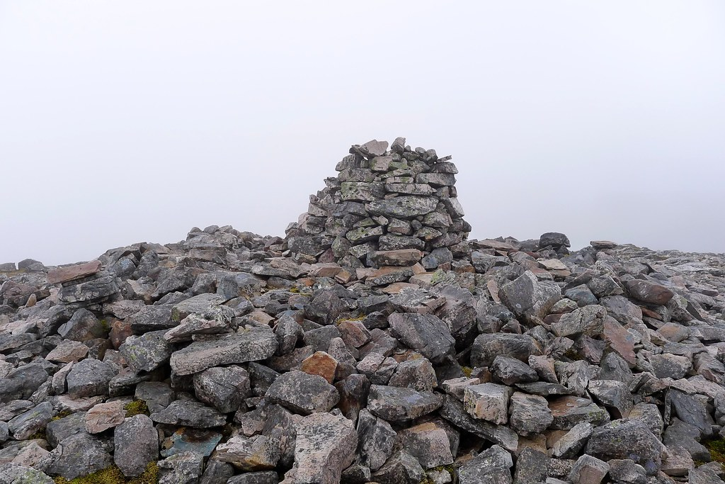 The summit of An Ruadh-Stac