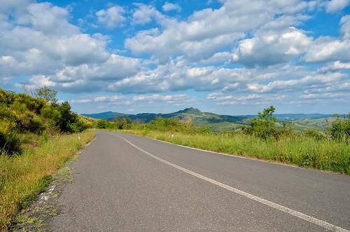 amiata road - italy