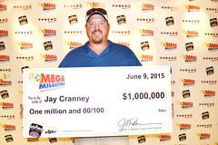 Jay Cranney - $1,000,006 Mega Millions