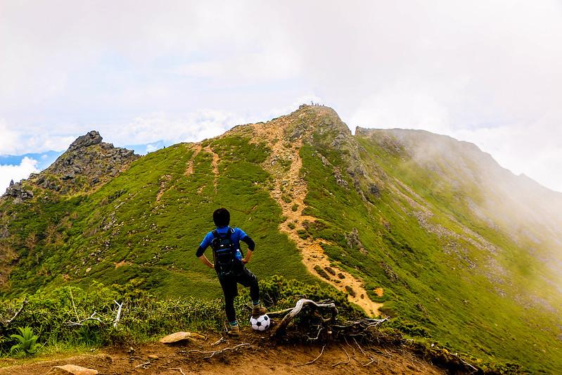 天狗岳の登山