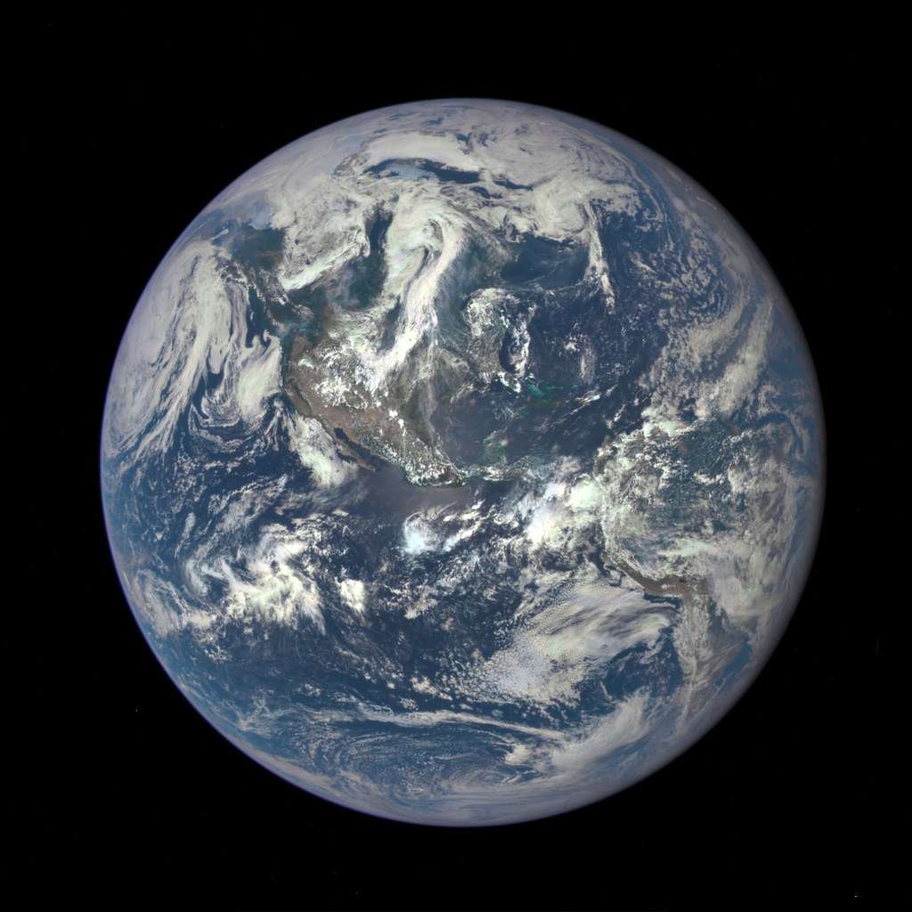 NASA Captures 'EPIC' Earth Image