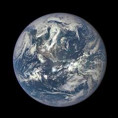 NASA Captures 'EPIC' Earth Image