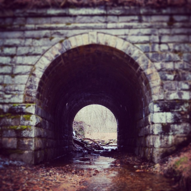 Over or under, the choice is always yours alone. #bridge #rr #hike #potapsco