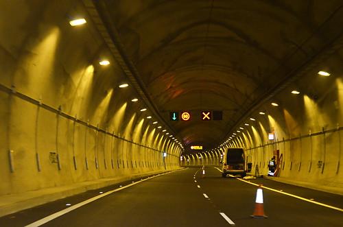 Santiago del Teide tunnel, Anillo Insular, Tenerife