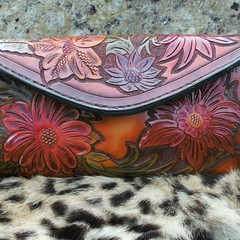 A #charityevent this clutch wallet was donated.