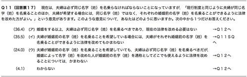 Q11 [回答票17]
