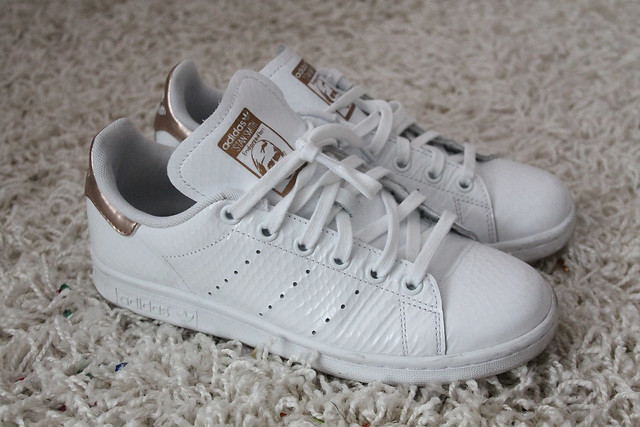 Stan Smith Silber Gold
