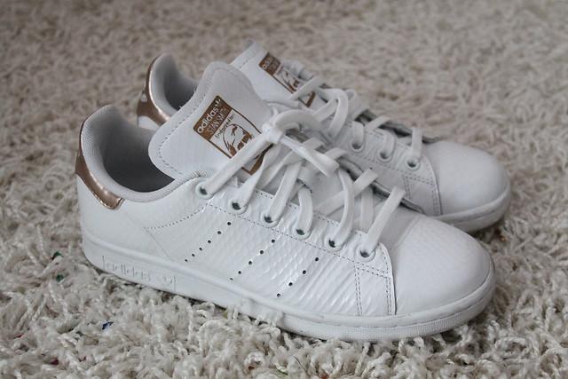Adidas Stan Smith Gold Weiß