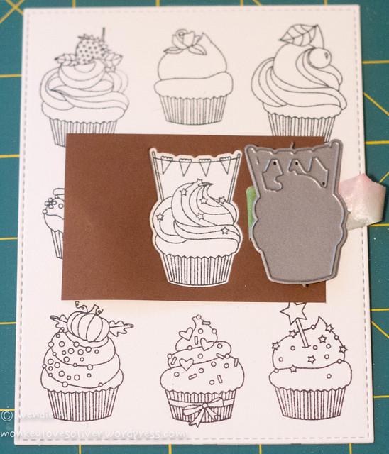 cupcakes: die window