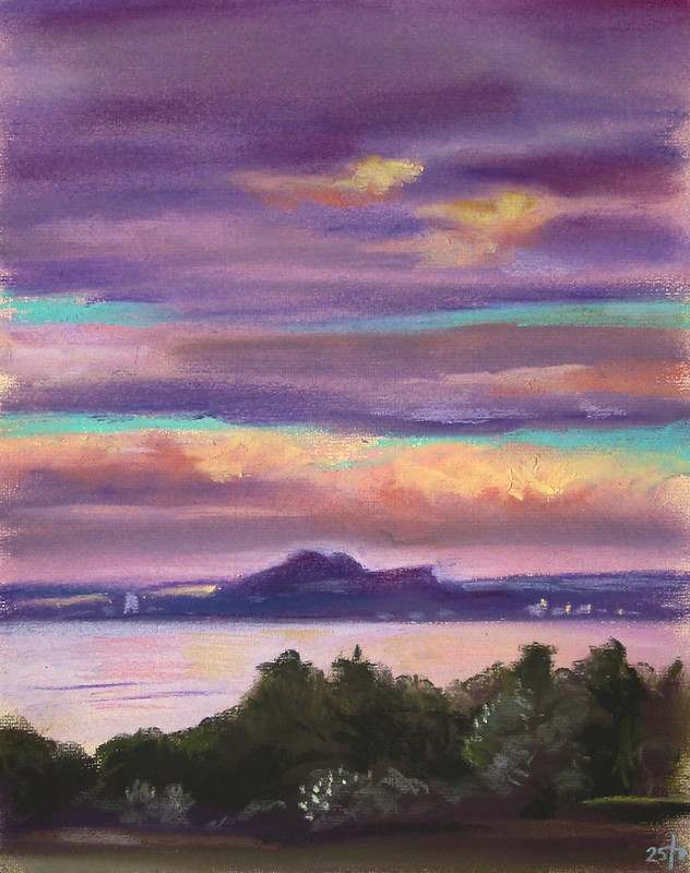 Purple Forth in Pastels, 25 June 2015