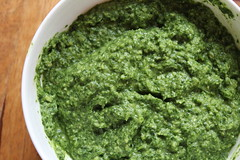 condiment, vegetarian food, chimichurri, green sauce, food, dish, cuisine,