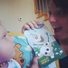Do you want to read about a snow man? #frozen #NatTime