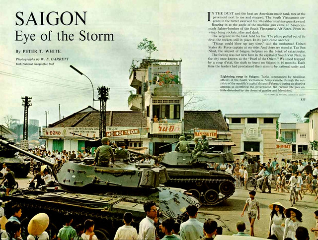 National Geographic Magazine June 1965 (2) - SAIGON: Tâm của Mắt Bão