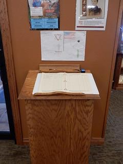 Laura Ingalls Wilder Museum Guest Book