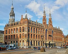 Magna Plaza, the Former Main Post Office, Amsterdam, Netherlands