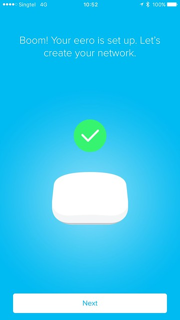eero iOS App - Setup - #9