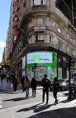 Calle Gran Via, Madrid 2016