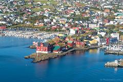 Helicopter ride - Torshavn's Parliament