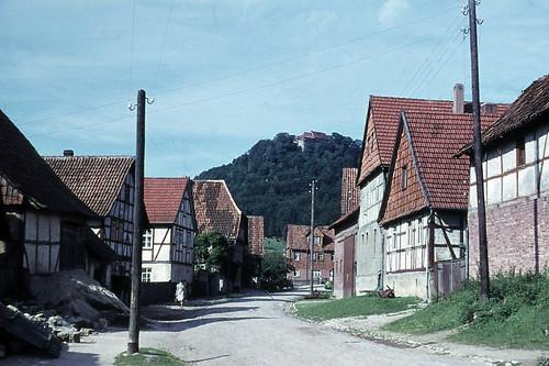 Das Eichsfelddorf Wintzigerode 1954