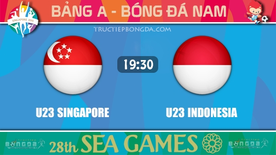 U23 Singapore vs U23 Indonesia