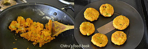 How to make veg cutlet step by step