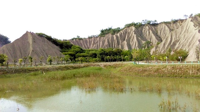 "月世界地景公園-高雄市田寮區-""Moon World"" Geopark, Tianliao, Kaohsiung City, Taiwan"