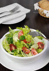 Light summer vegetable salad (Misc)