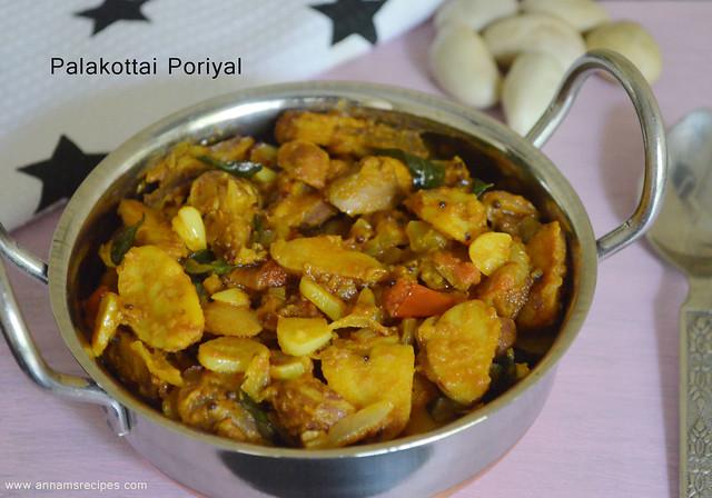 Palakottai Masala / Poriyal