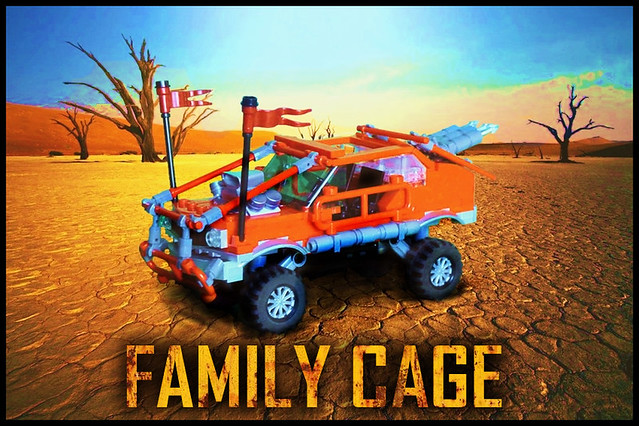 Family Cage - Fury Road Style vehicle